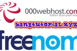 Cara Menghubungkan 000webhost Dengan Domain Freenom