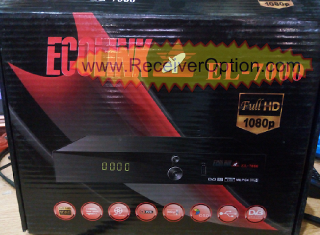 ECOLINK EL-7000 HD RECEIVER TEN SPORTS OK NEW SOFTWARE