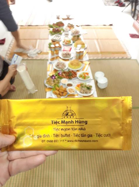 Đặt cỗ tân gia tại nhà ở Tam Trinh - Hoàng Mai