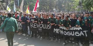 Mahasiswa Nyatakan Siap Gabung dengan Buruh Demo di Istana Negara Besok