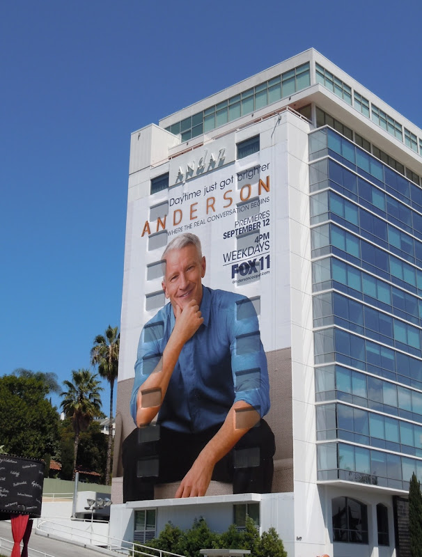 Giant Anderson TV billboard