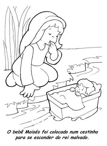 Desenhos Biblicos Para Colorir Xvi Atividades E Desenhos