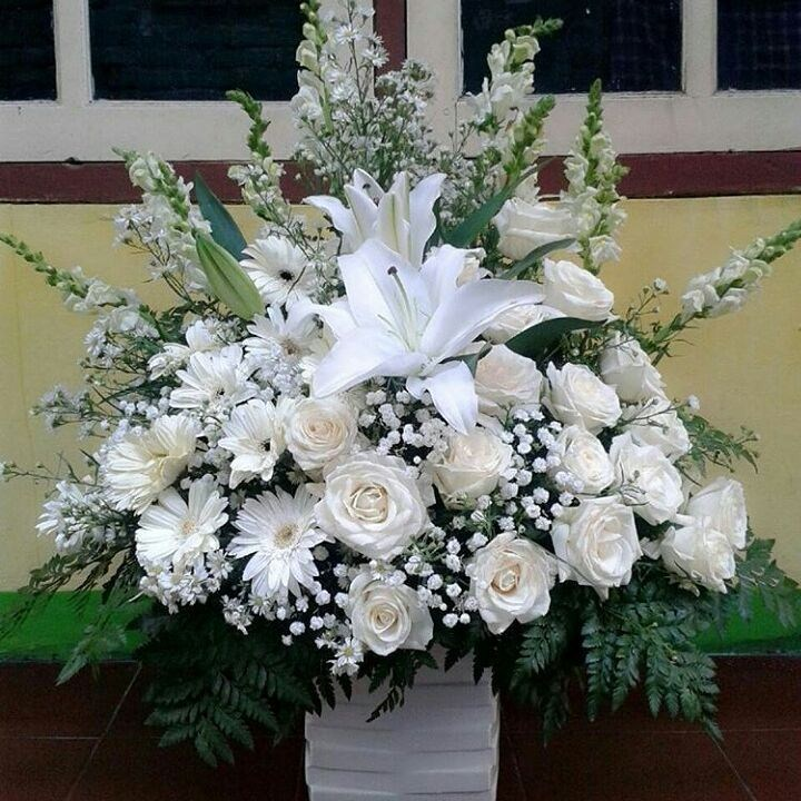 Karangan Bunga Meja Table Flowers 022