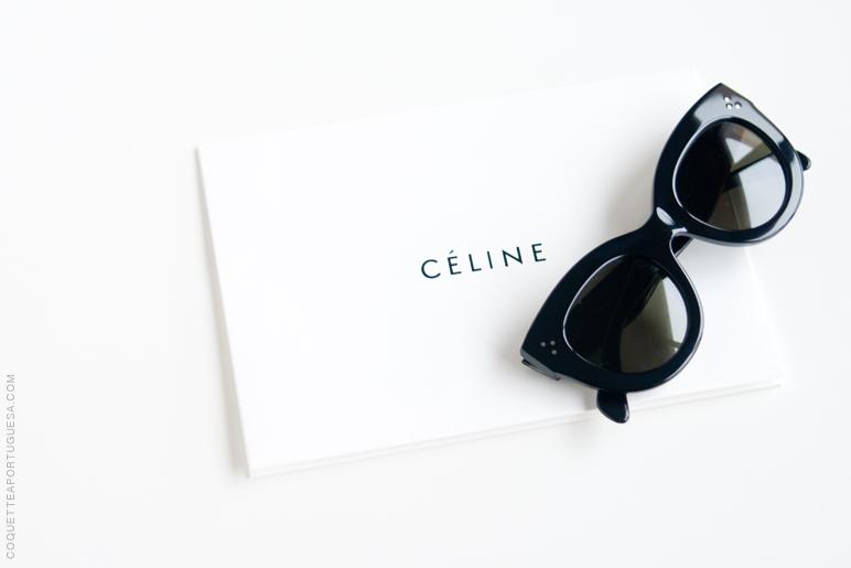 Há cerca de um ano comprei uns óculos que andava a namorar há imenso tempo,  os New Audrey da Céline, já os tinha experimentado na loja, olhei para o  preço e ... 5ee3955892