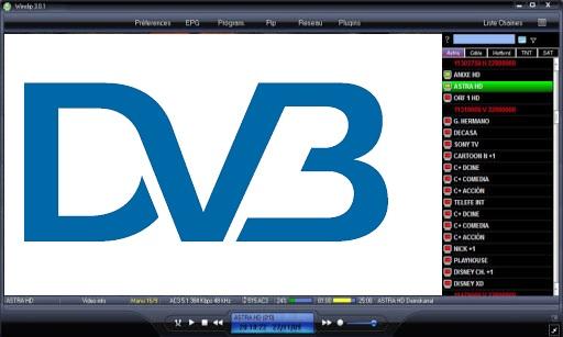 برنامج WinClip dvb
