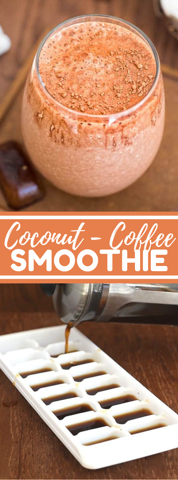 COCONUT COFFEE SMOOTHIE #drinks #healthydrink