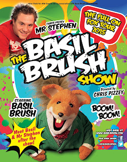 Basil Brush live