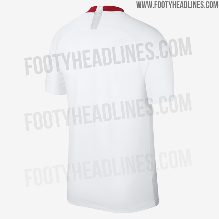 dbdc823bf Poland 2018 World Cup Home and Away Kits Released - Footy Headlines