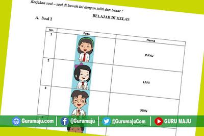 Soal UH / PH Kelas 2 Tema 7 Kurikulum 2013 Revisi Tahun 2019