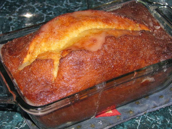 Gluten Free Banana Lemon Loaf