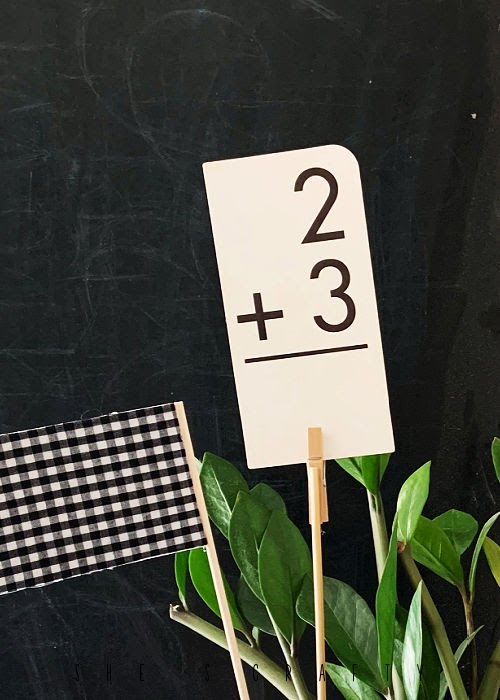 Plant Clips made from clothespins and skewers