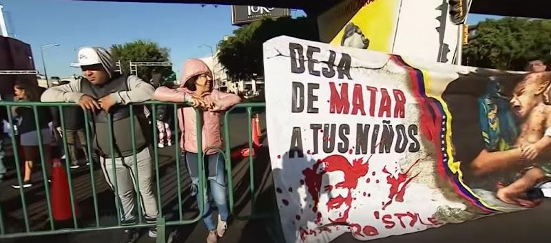 Se forman manifestaciones en contra de Nicolás Maduro en México