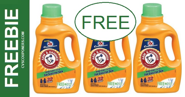 FREE Arm & Hammer Detergent CVS Deals