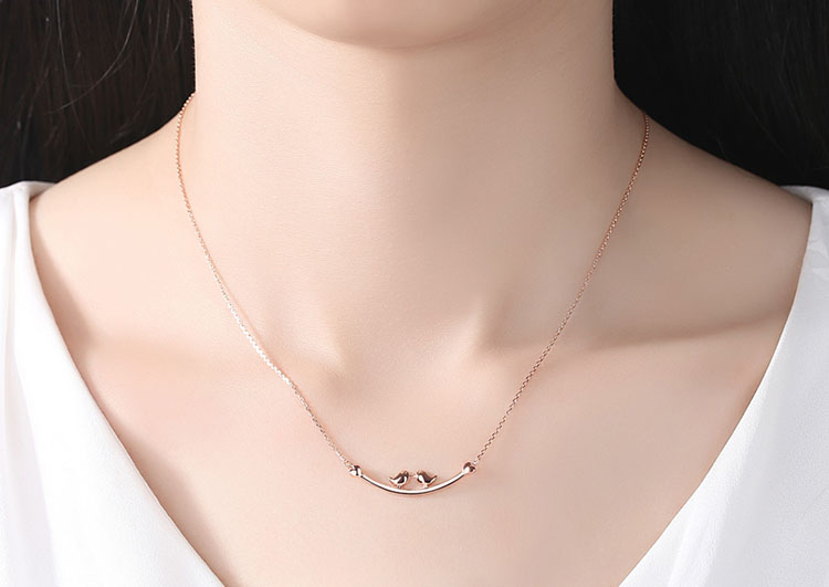 愛之鳥 925純銀項鍊