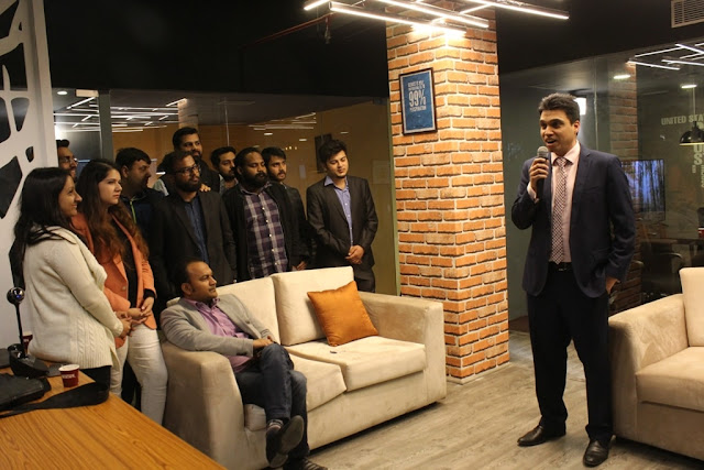 Incuspaze Co-working and Incubation Centre launched in Gurugram amidst immense zeal.