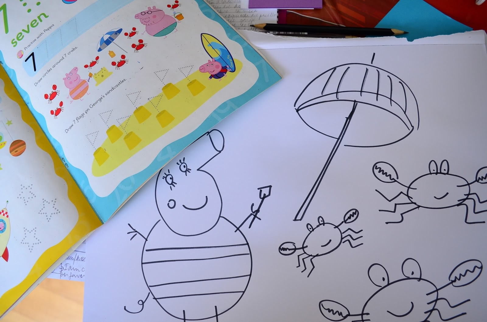 The Practical Mom: DIY Book based Colouring Pages (+Book Recommendations for 4 yr olds)