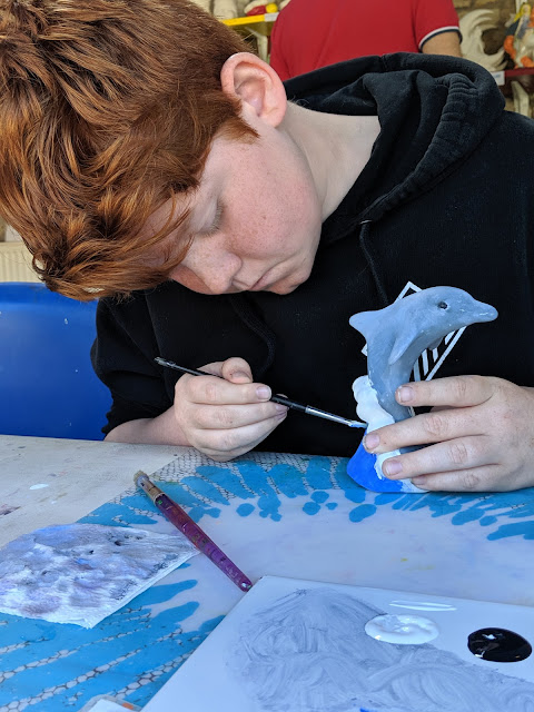 Things to do in Berwick - - Pottery painting at Pot-a-doodle do