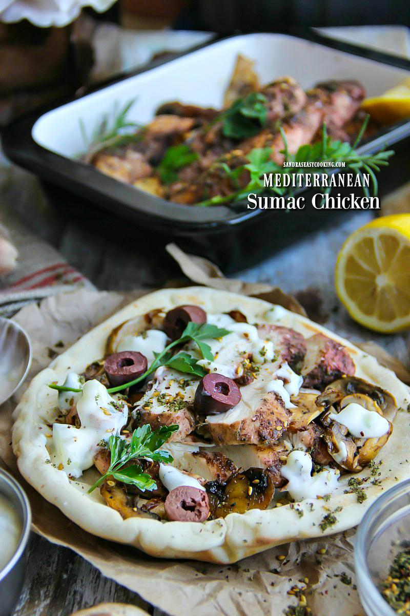 Mediterranean Sumac Chicken Recipe