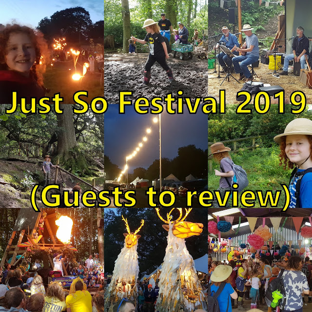 Collage of photos from JUst So Festival Review 2019