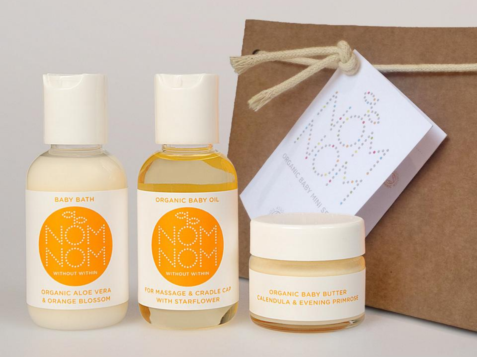 Nom Nom Skincare for Mothers and Babies
