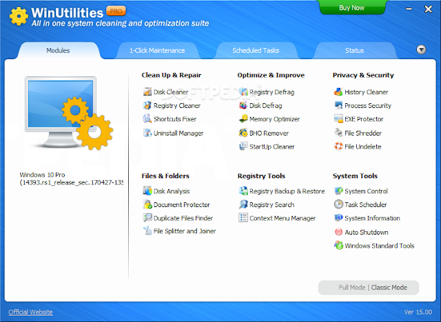 WinUtilities 1 -