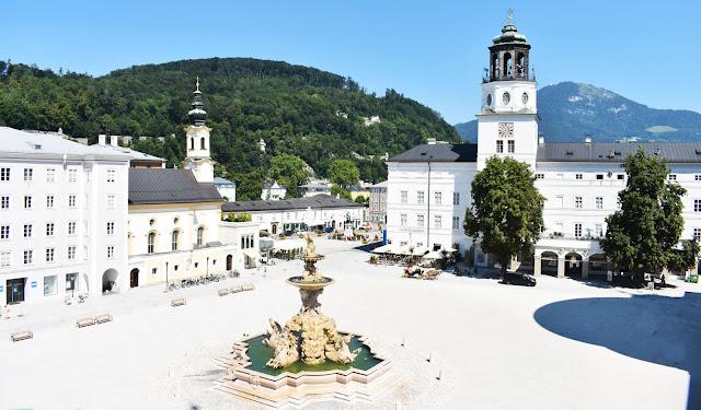 Residenzplatz de Salzburg