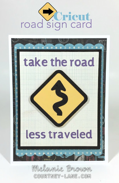 Cricut Roadside card