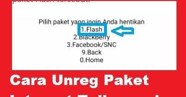 Cara Unreg Paket Internet Telkomsel Karena Mau Pindah Paket Cara Cek Sisa Paket