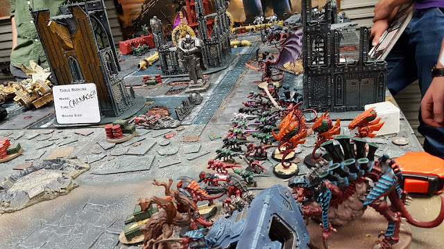 fate of konor battle report space marine blood angels tau t'au tyranid ultramarines dark angels imperial guard redemptor dreadnought thousand sons magnus the red astramis
