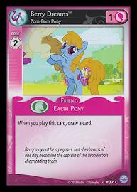 MLP Berry Dreams, Pom-Pom Pony Premiere CCG Card