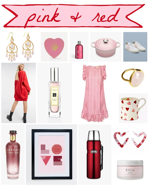 pink & red finds for Valentine's Day