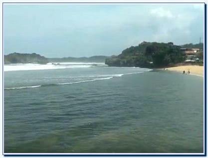 Lokasi Pantai Sundak Jogja