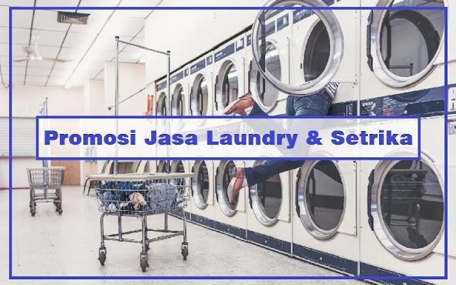 promosi usaha laundri dan setrika baju