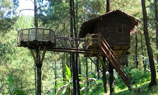 Tarif Wahana Wisata Rumah Pohon Jati Asih Bekasi