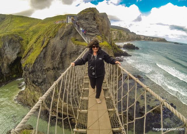 Ponte de cordas de Carrick-a-Rede, Irlanda do Norte