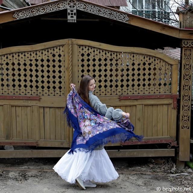 павлопосадский платок фото