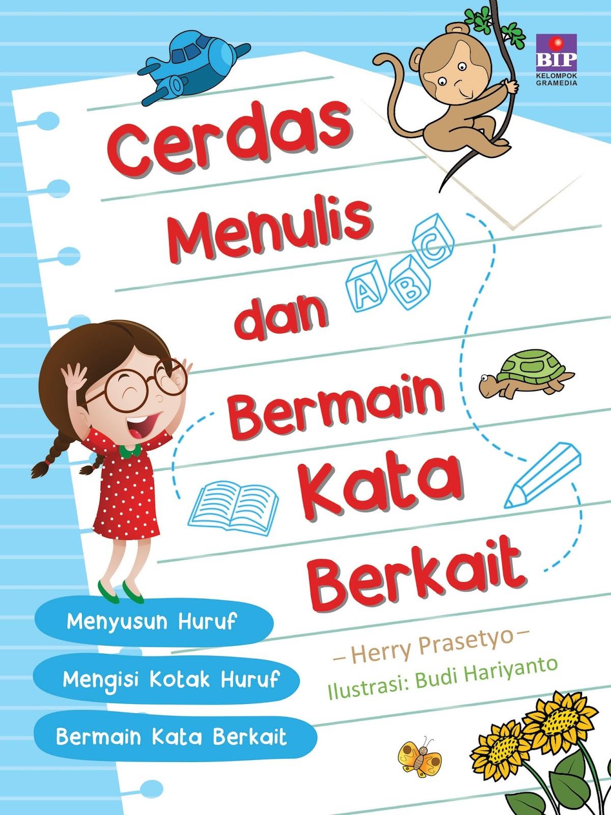 Buku ini dirancang untuk melatih anak pandai menulis dan memilih kata Dilengkapi dengan permainan kata berkait agar anak cepat pintar menulis