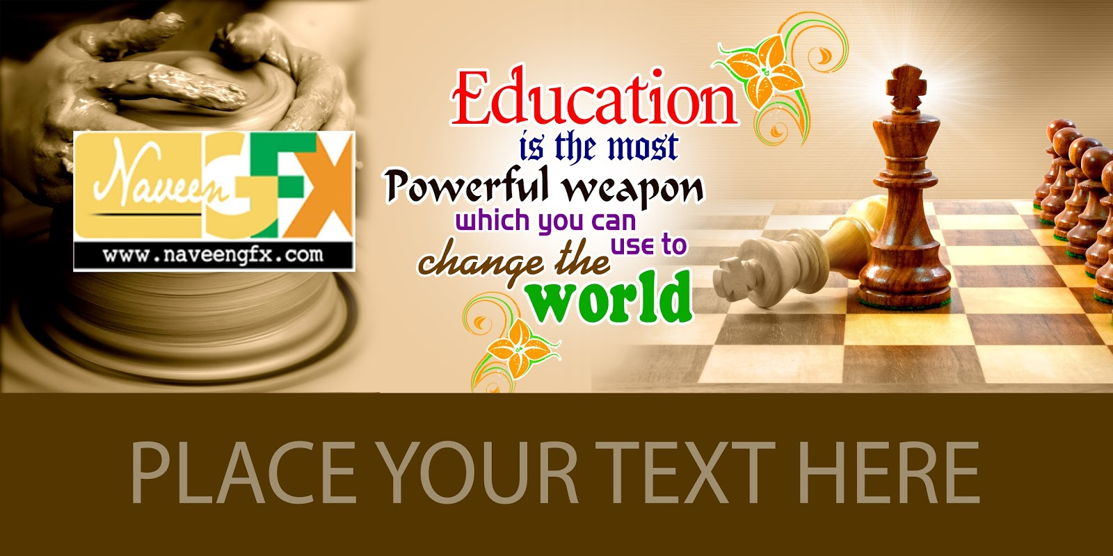 school flex banner design psd background free download