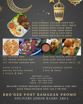 From Hotel to Street, Satay Kayangan dan Durian Goreng Hana's Kitchen Memang Sedap!