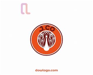 Logo JCo Donuts Vector Format CDR, PNG