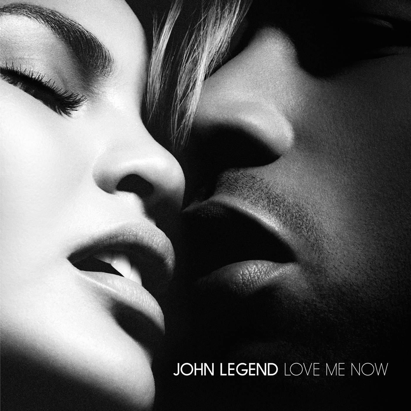 John Legend - Love Me Now - Single Cover