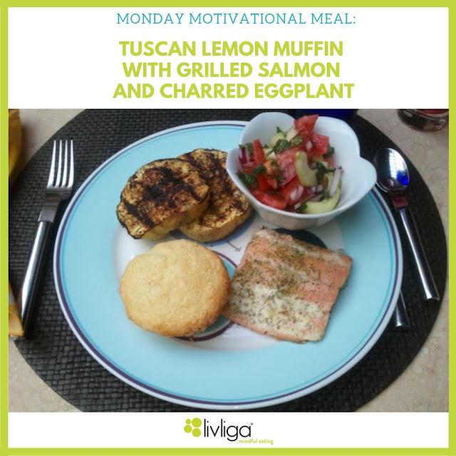 Moonday Motivational Meal - Tuscan Lemon Muffin