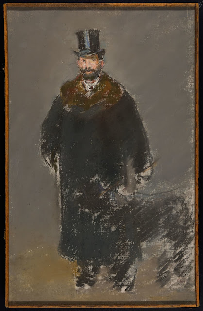The Man with Dog by Manet. Companion Animal Psychology News