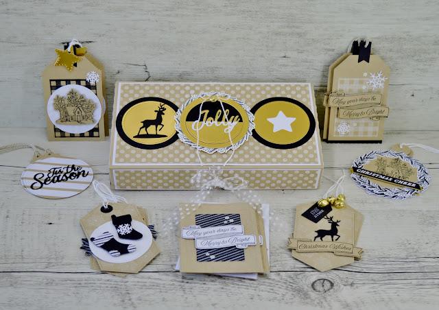Artisan Design Team 2019, Corporate Blog Post, Christmas Gift Tags, Tidings All Around, Heirloom Frames Dies & Embossing Folders, Jolly Season Dies, Pizza Gift Box,