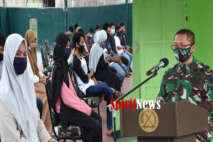 Kasrem 141/Tp, Lakukan Pembinaan Komunitas di Wilayah Korem