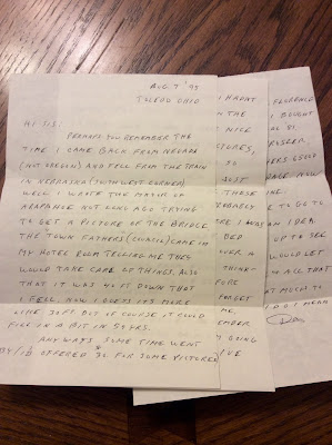 Climbing My Family Tree: Don Snyder's August 7, 1995 letter to his sister Phyllis (Snyder) Fry