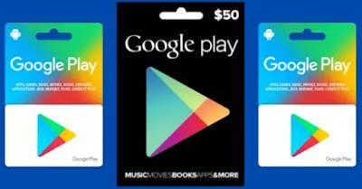 موقع يعطيك بطاقات جوجل بلاي مجانا 2021
