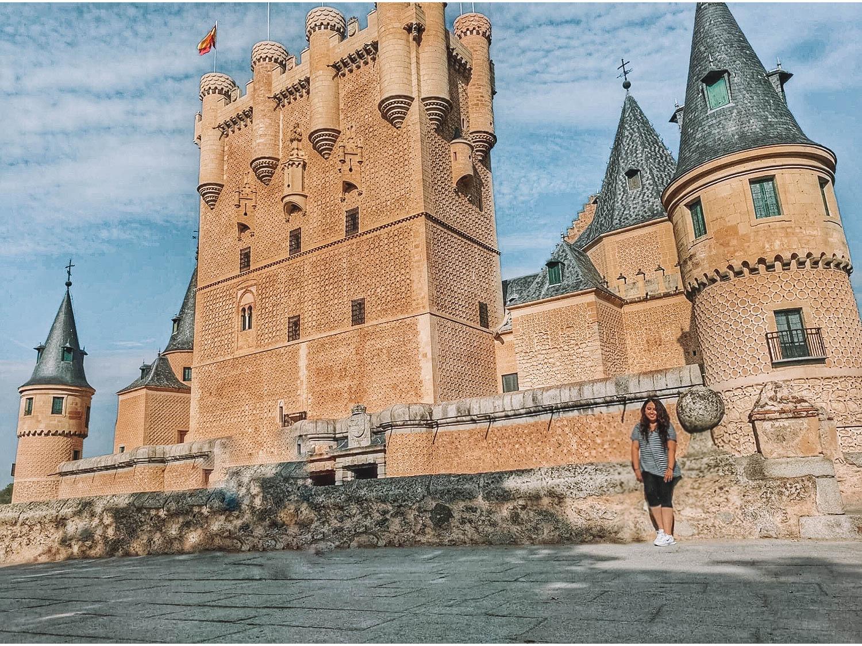 Segovia Spain Castle
