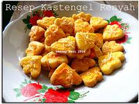 Resep Kue Kastengel Renyah ( Crispy Kastengel Recipe )