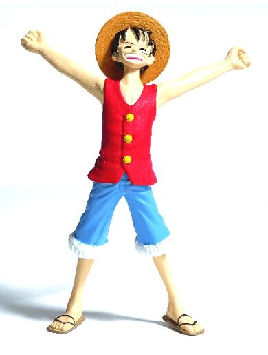 Monkey. D. Luffy coleccion oficial de figuras de one piece